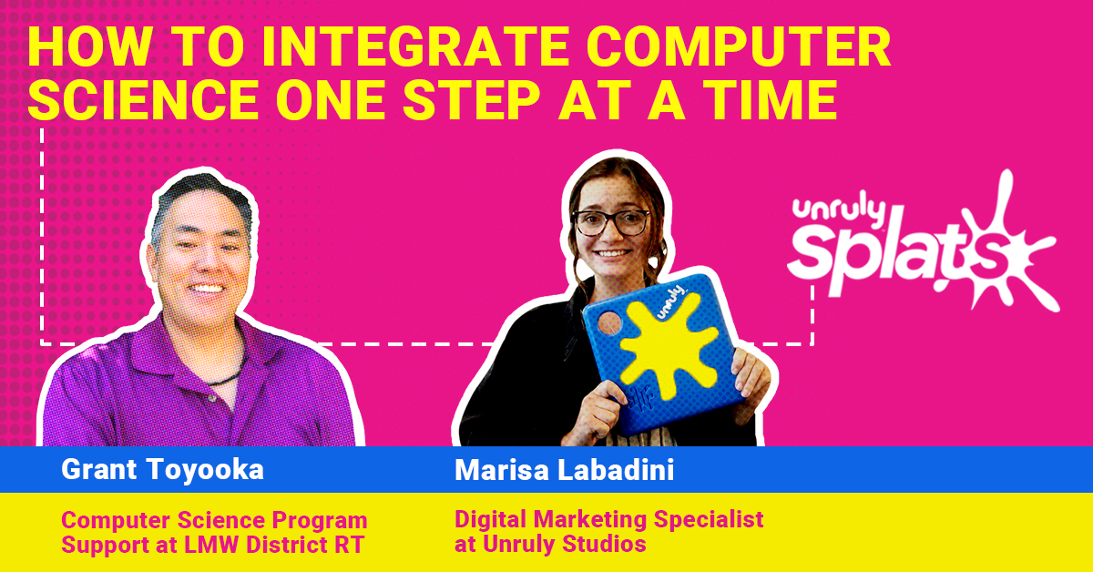 STEM Webinar - How to Integrate Computer Science One Step at a Time