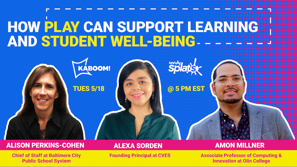STEM Webinar - How to Use Play to Support Learning and Student Well Being