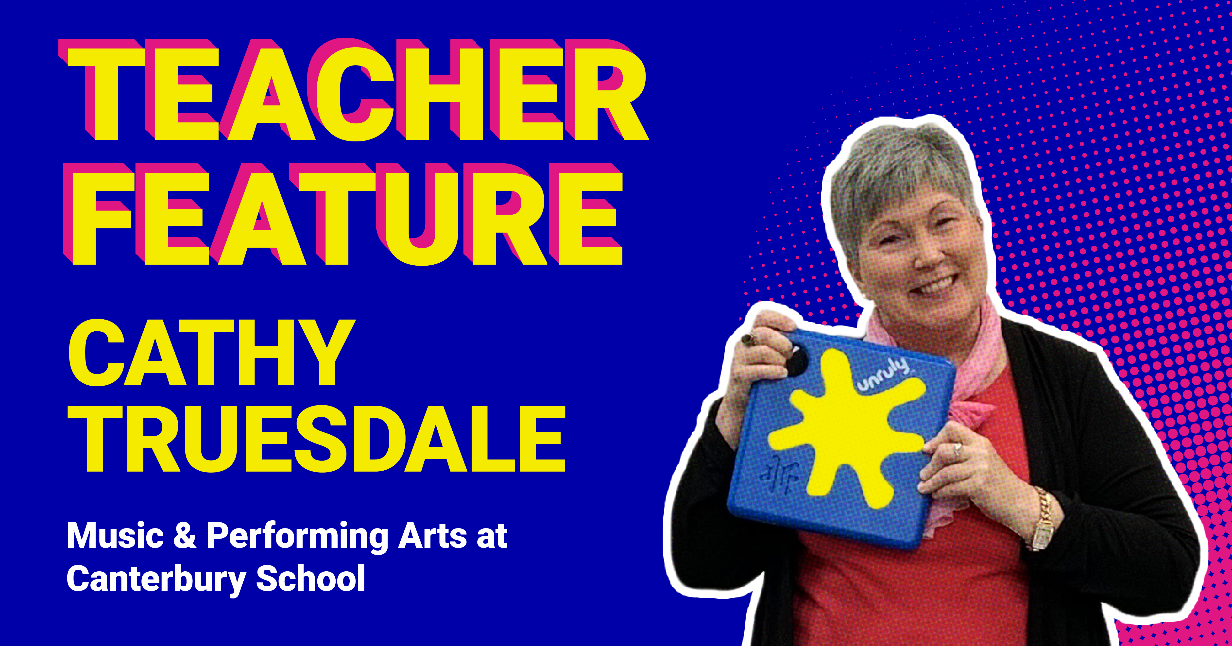 Teacher Feature: Cathy Truesdale