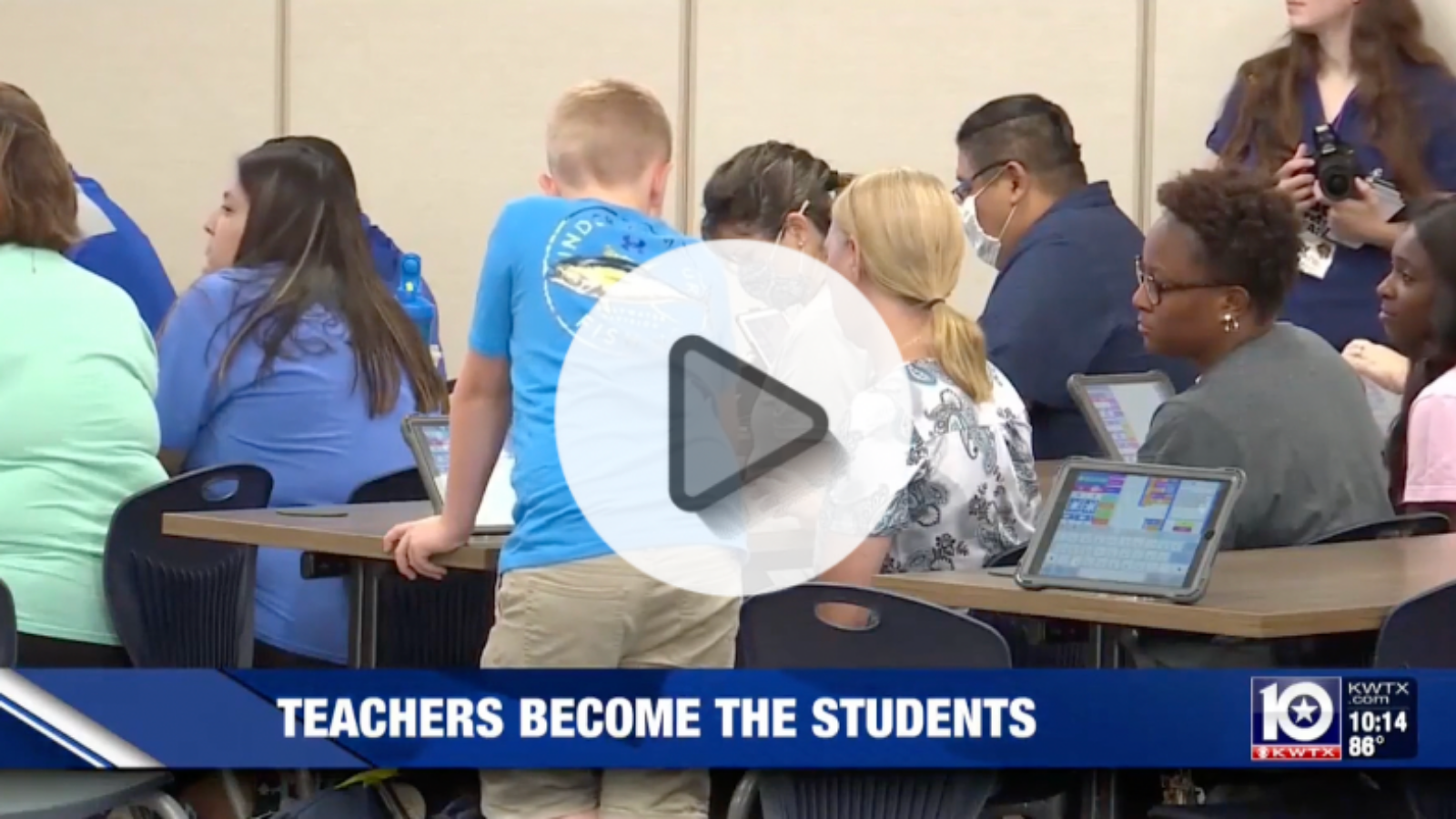 Students teaching teachers to increase student engagement