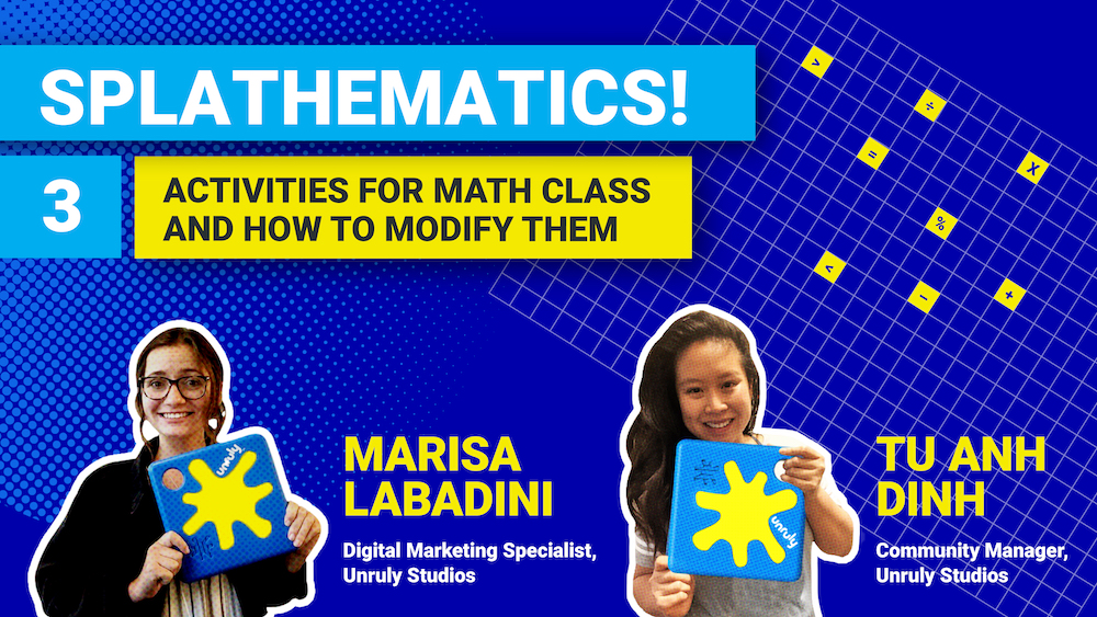 STEM Webinar - 3 Activities for Math Class and How to Modify Them