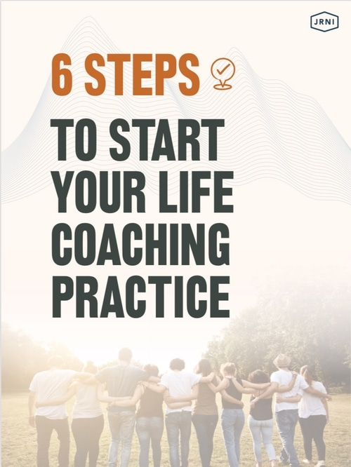 Image: booklet cover for 6 Steps to Start Coaching Today