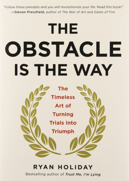 Book jacket for The Obstacle is the Way
