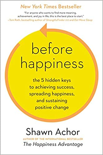 Book jacket Before Happiness