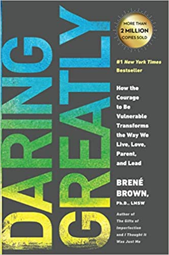Book jacket for Daring Greatly