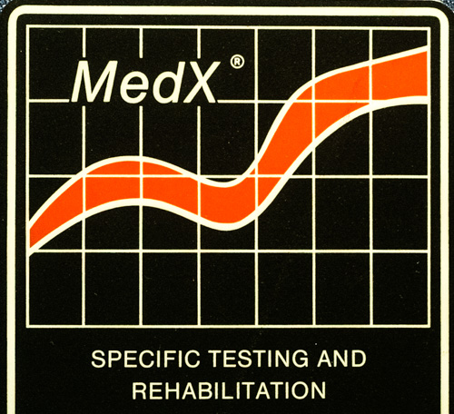 MEDX spine specific strengthening and rehabilitation equipment