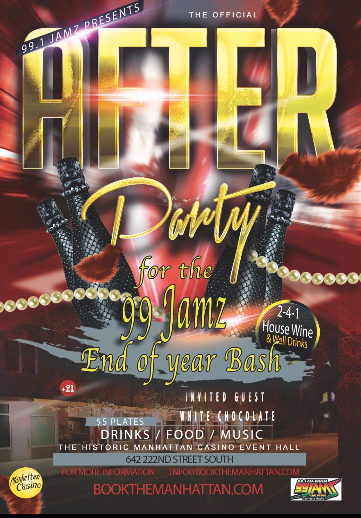 99 Jamz End Of Year After Party