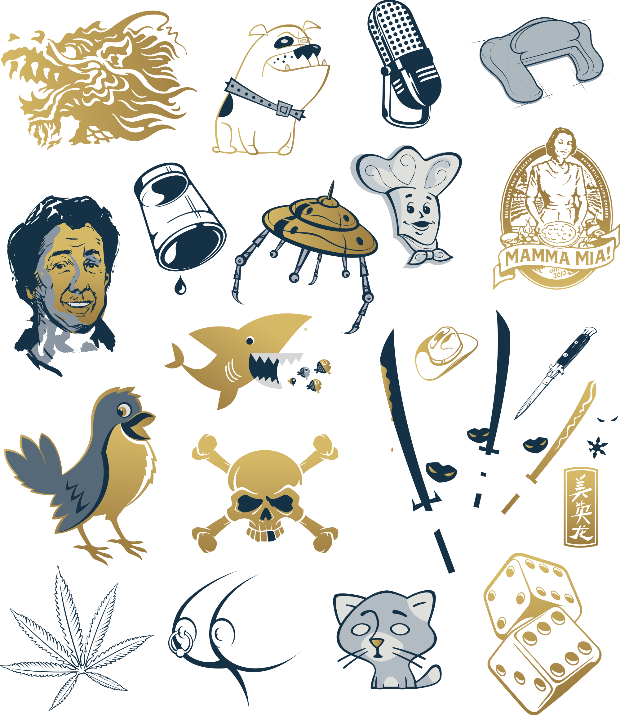 Doug Best illustrations