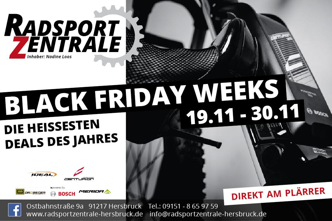 Black Friday Weeks Radsportzentrale Hersbruck