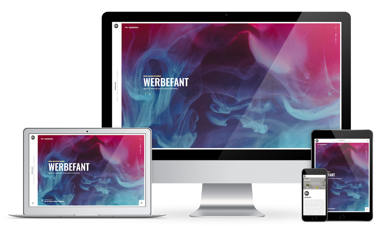 Werbefant Screen Mockup