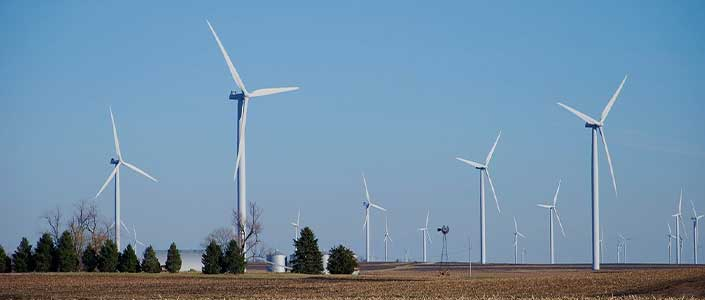 Central Texas wind farms generate more renewable green energy than any other state.