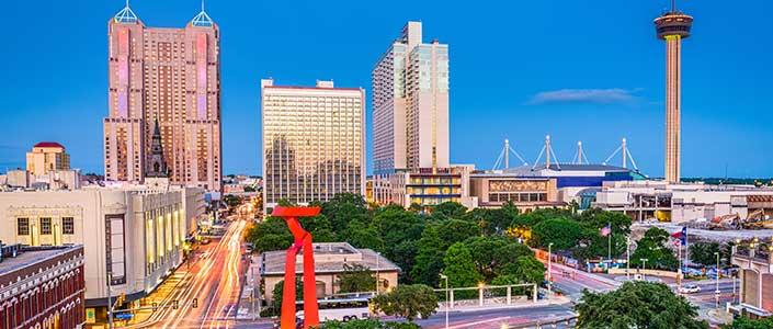 Downtown San Antonio Business District