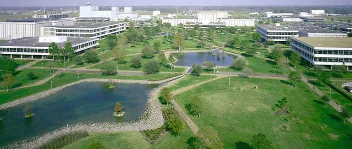 Johnson Space Center in Houston, Texas