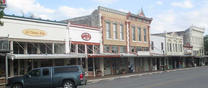Town Square Business in Georgetown, Texas