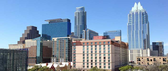Business is booming in Austin as it continue to grow quickly.