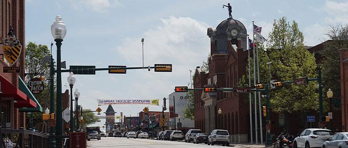 Grapevine's Historic Mainstreet