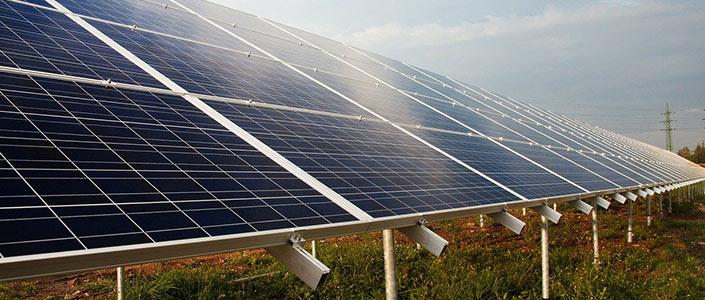 A solar farm project near Tyler, Texas