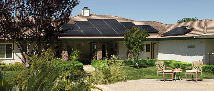 A home in Killeen with Solar Panels