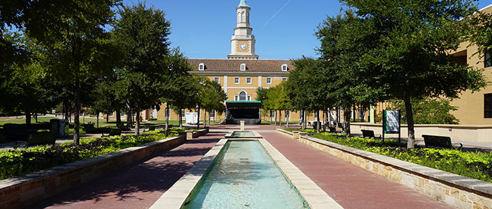 Hurley Administration Building at UNT Denton, Texas