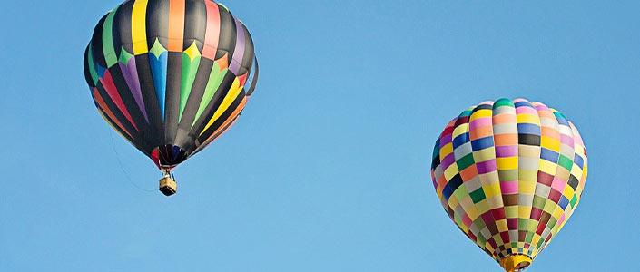 Hot air Balloon in Plano