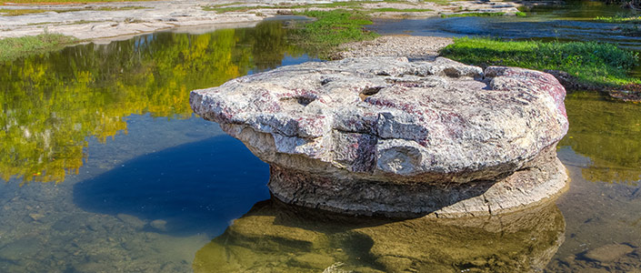 "The ""Round Rock"" in Round Rock Texas"