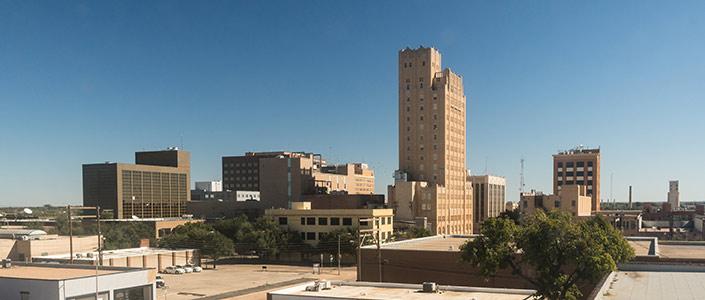 Abilene, Texas Downtown area