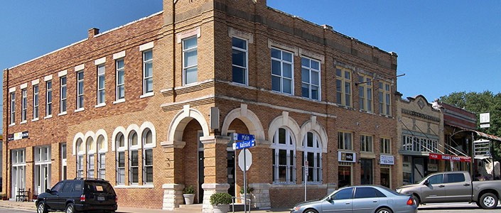 Pflugerville Historic District - By Larry D. Moore, CC BY-SA 3.0, https://commons.wikimedia.org/w/index.php?curid=21668350