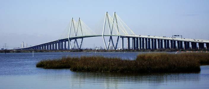 A Suspension Bridge in Baytown