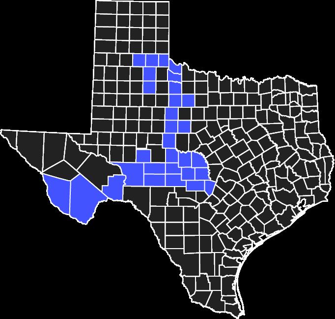 AEP Texas North Service Area