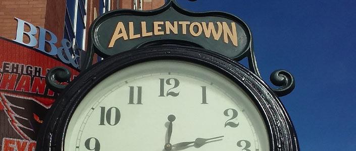 Allentown, PA clock