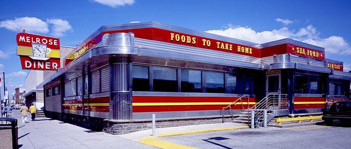 The famous Melrose Diner in Philadelphia