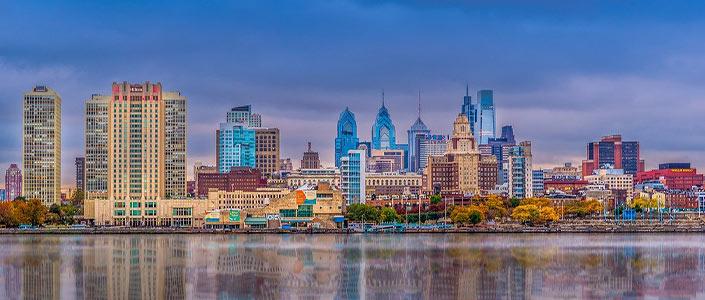 Philadelpha, PA Skyline