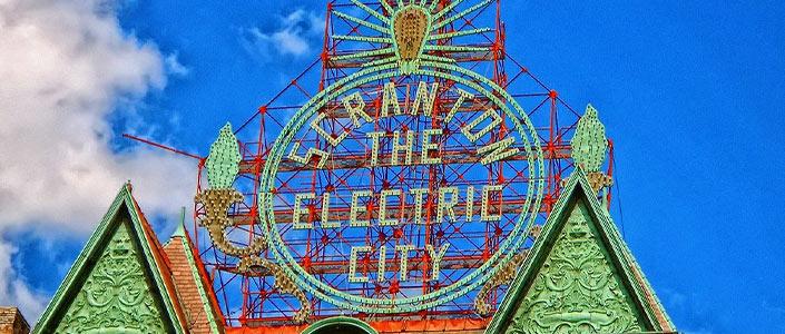 Scranton, PA The Electric City sign