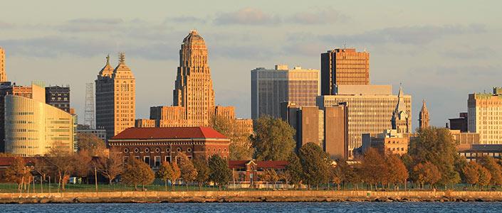 Buffalo NY Skyline