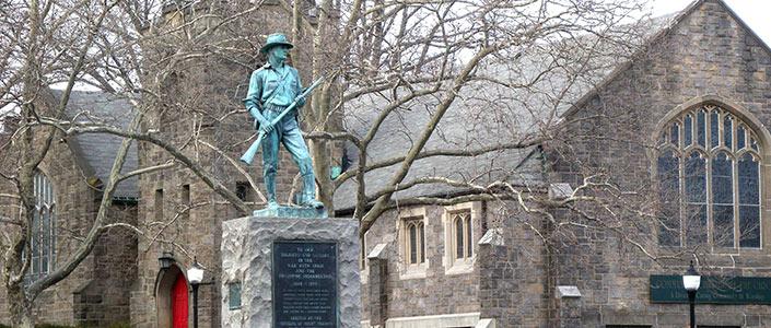 Mount Vernon, NY Spanish War Statue