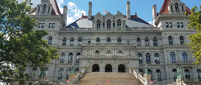 New York Capitol Building in Albany