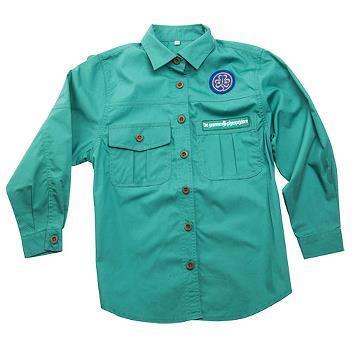 De grønne pigespejdere Uniformsskjorte Børn