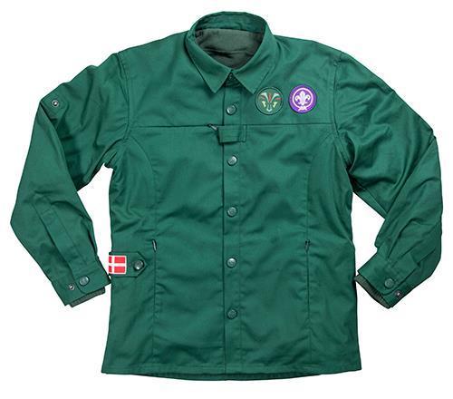 Uniform barn KFUM-Spejderne