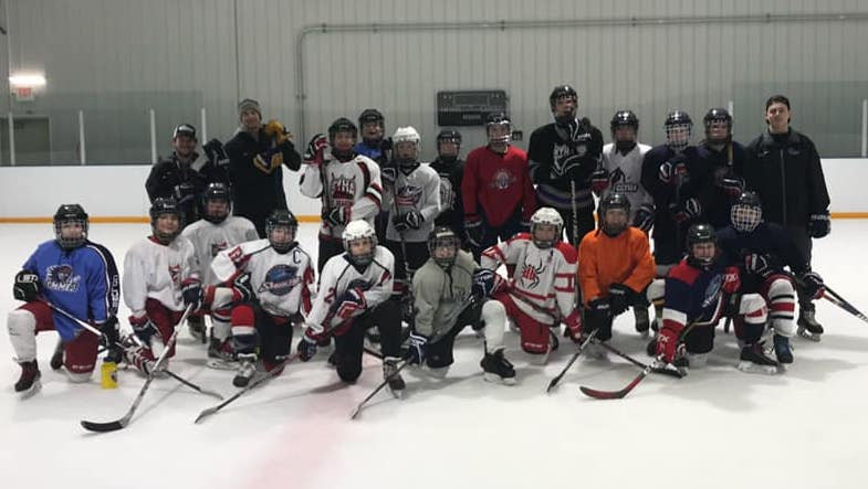 Battery Hockey clinics and camps offerings for all ages