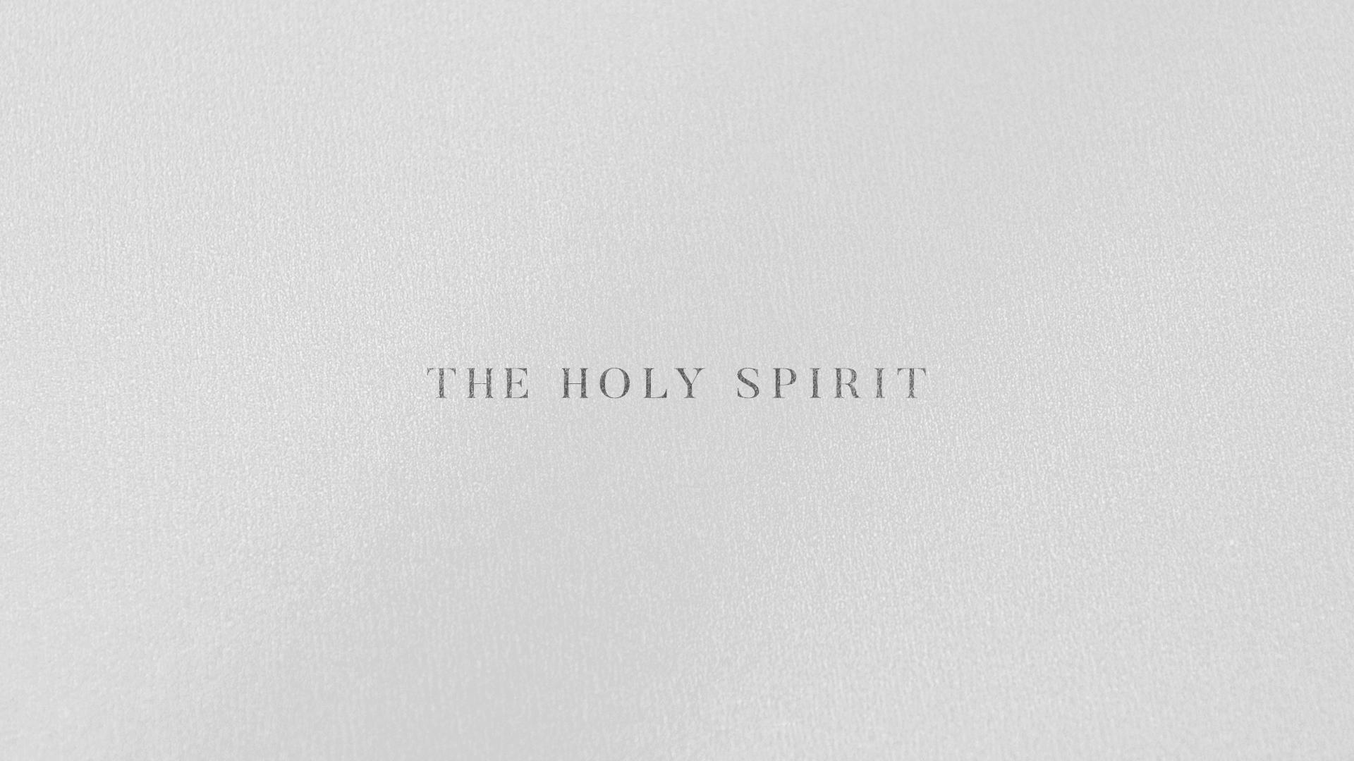 The Holy Spirit - Week 2 - David Hoffbrand
