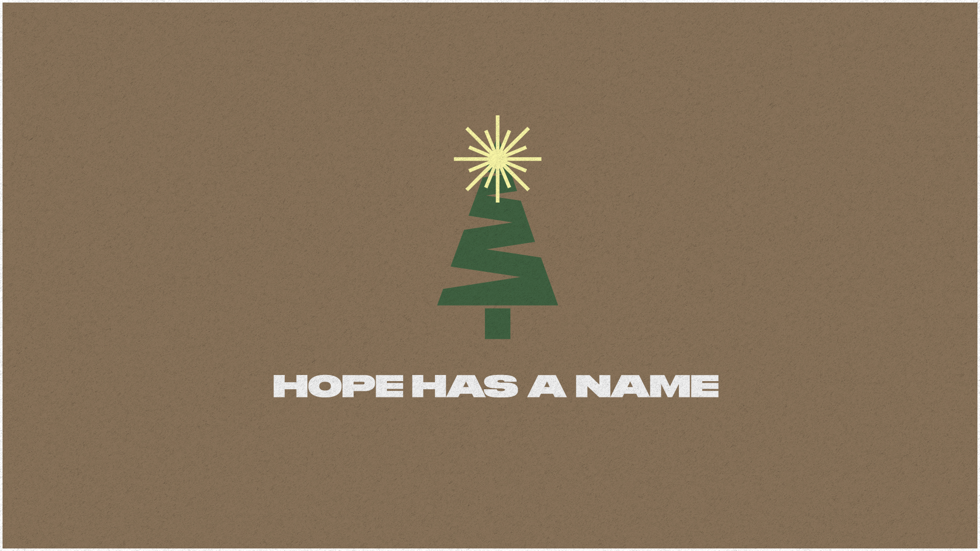 Hope Has a Name - Sunday 13th December 2020 - Guest Speakers