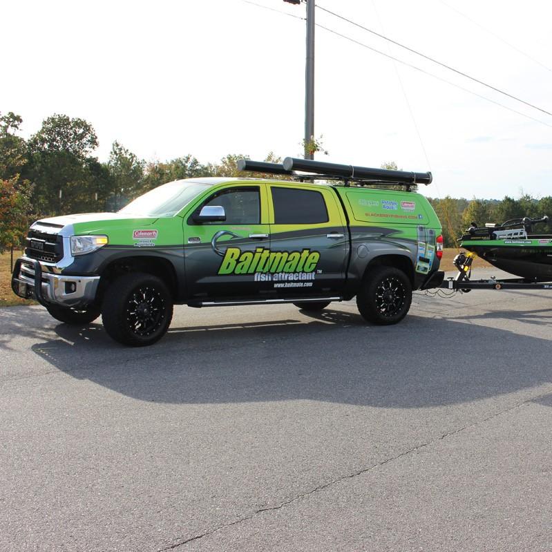 Baitmate Vehicle Wrap