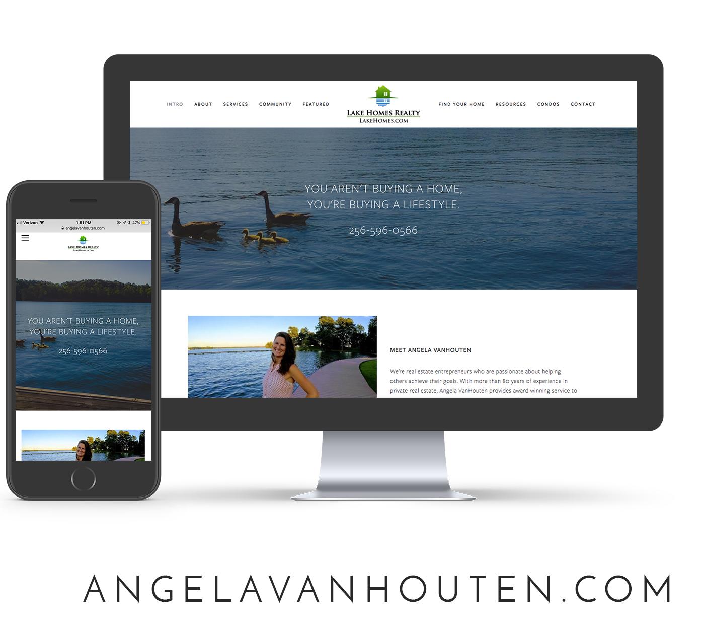 Angela VanHouten Website