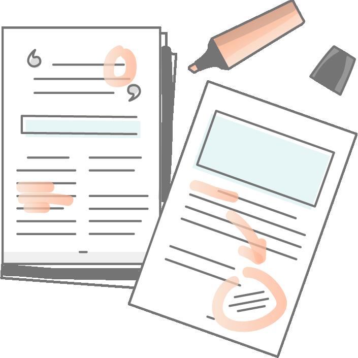 copywriting & editing, eindredactie en nalezen