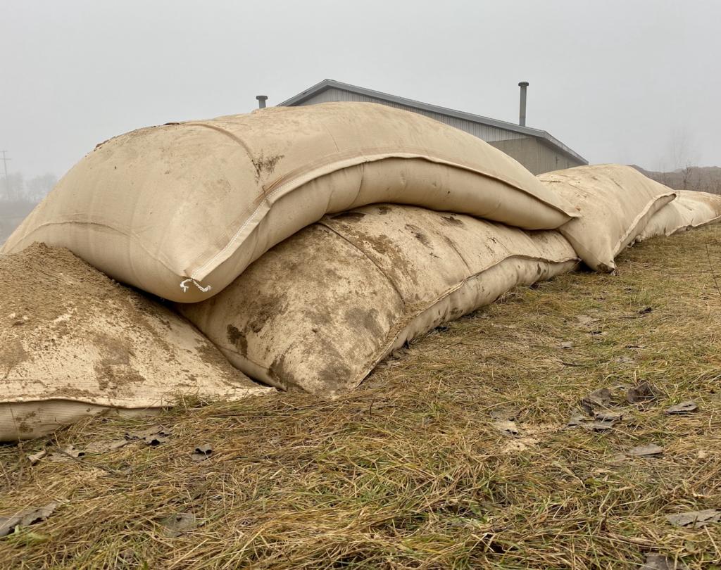 geotextile sandbags