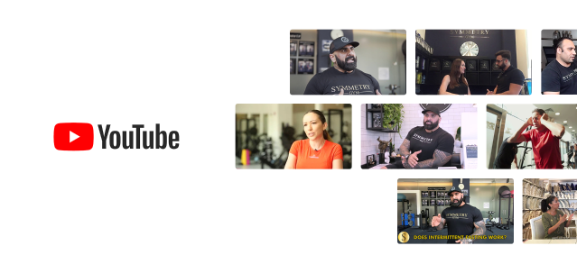 Symmetry Gym YouTube videos