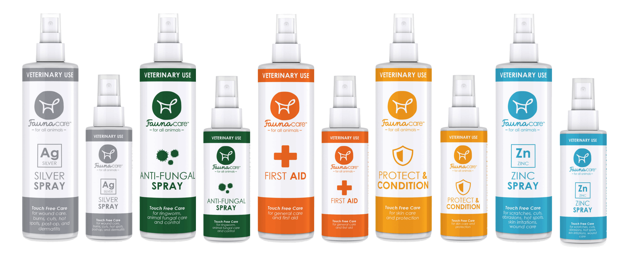 Fauna Care Veterinary Sprays
