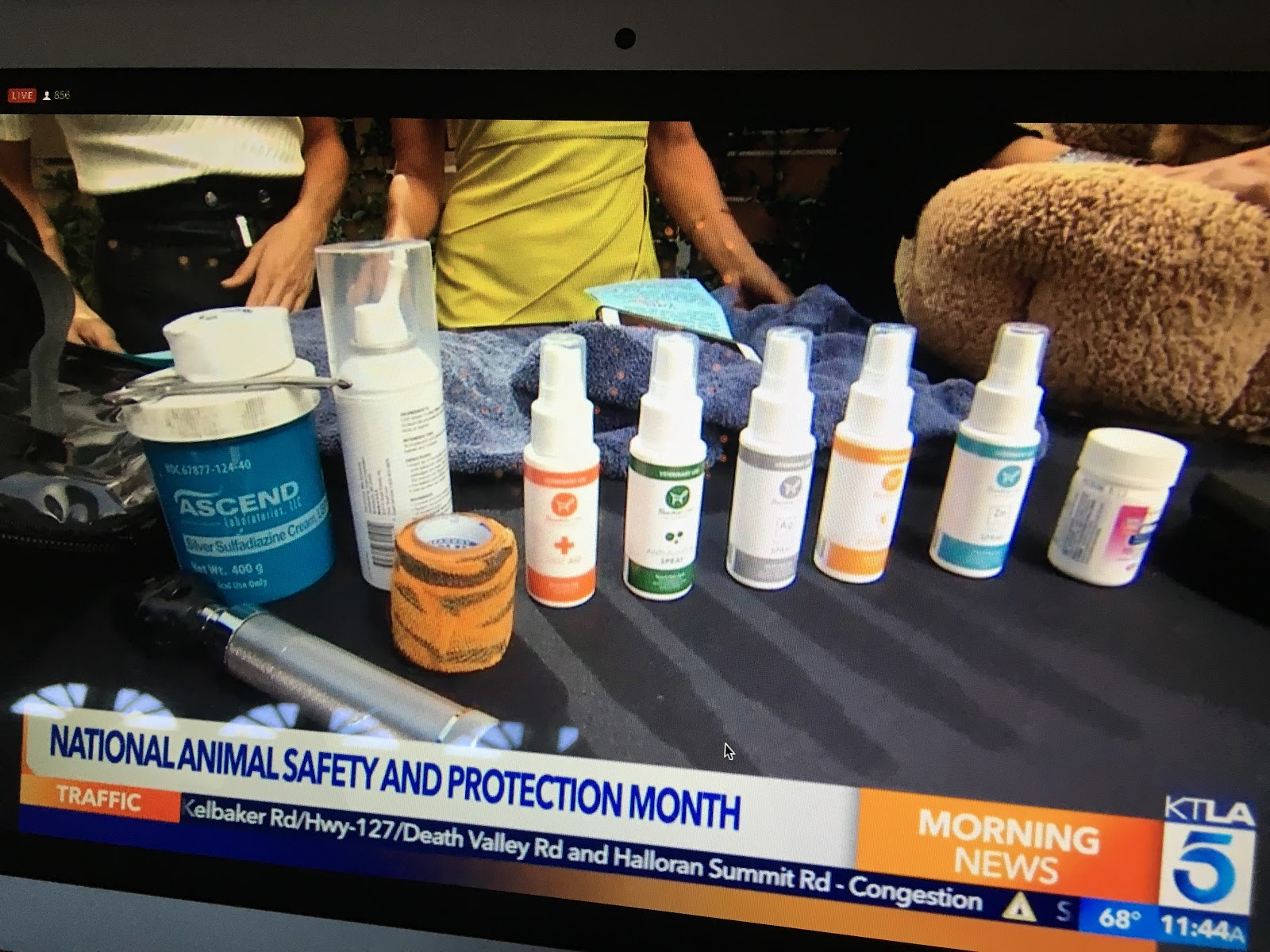 Fauna Care Products featured on KTLA News