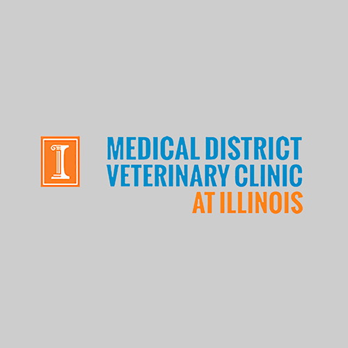 Medical District Veterinary Clinic at Illinois logo