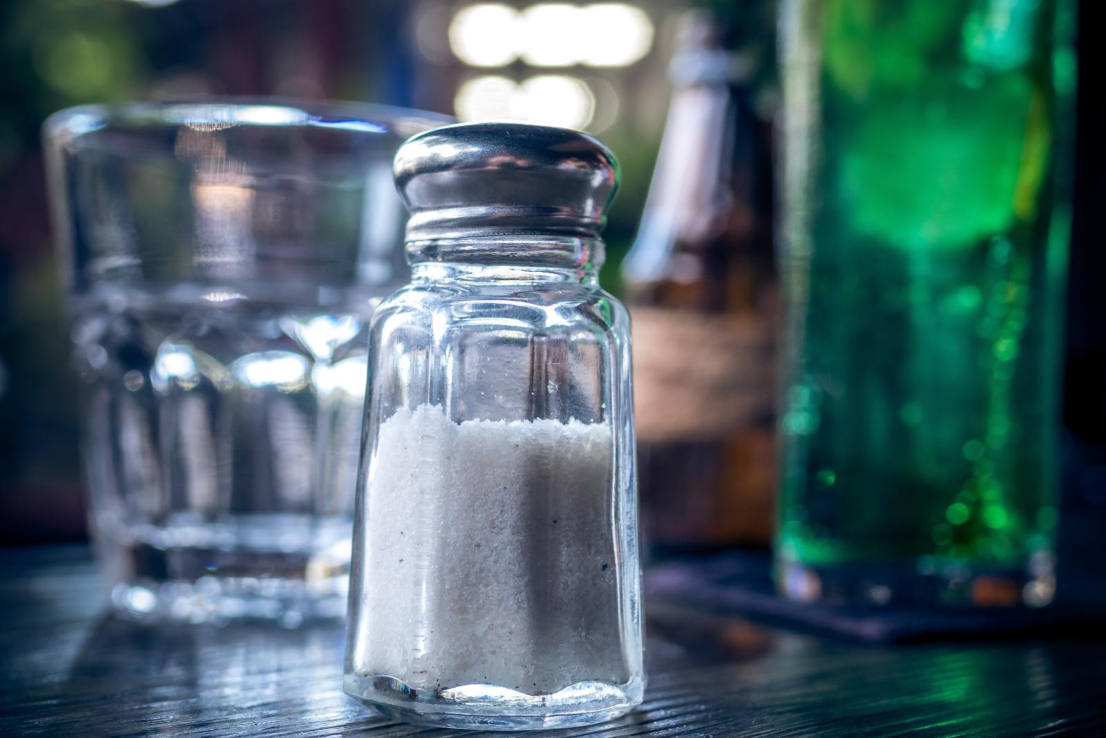 salt in salt shaker